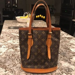 Authentic Louis Vuitton bucket